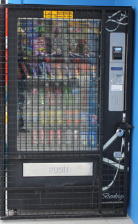 food and drink vending machine